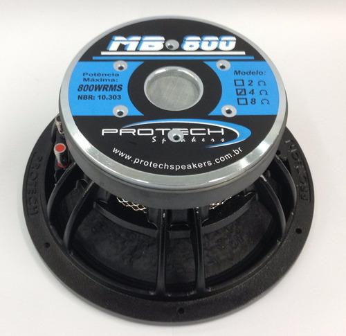 protech mb800 - 12  - 800wrms - pancadão