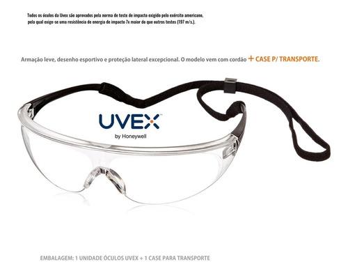 proteção com óculos