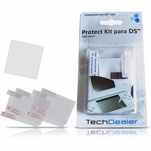 protect kit p/ nintendo ds - tech dealer - pronta entrega!