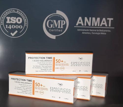 protection time 50+ hialuronico especificos buenos aires
