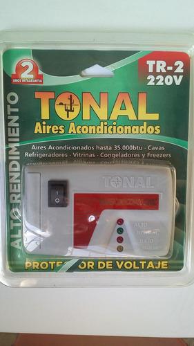 protector 220v de voltaje para aire acondicionado
