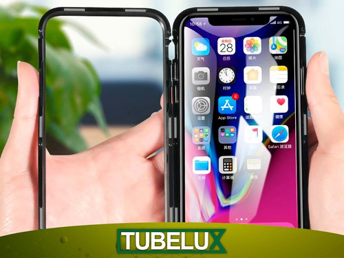 protector 360 magnetico iphone x xs xr xs max  + vidrio 5d