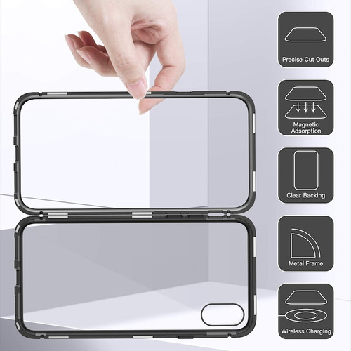 protector 360 magnetico iphone xs max xs x xr 8 7 6s 6 ®