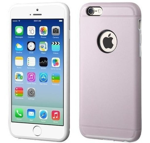 protector 360 para iphone 6/6s delgada duo shell original