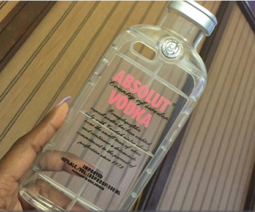 protector absolut vodka rosa  para iphone 5