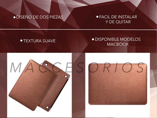 protector acrilico tipo seda - macbook air 13 (sin touch id)