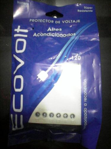 protector aire acondicionado con bornera 110 volt.