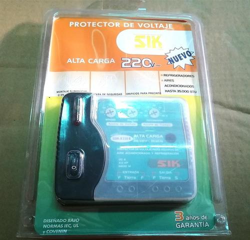protector aire acondicionado refrigeradores 220v