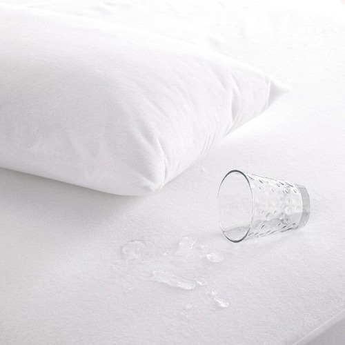 protector almohada blanco soft uni.