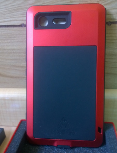 new style c4206 b0811 Protector Aluminio Love Mei Powerful Sony Xperia Xz Premium!