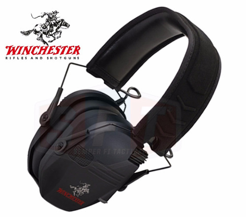 protector auditivo low profile winchester electronico 2 mic