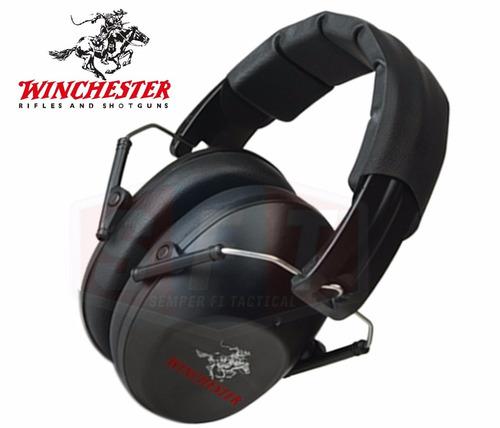 protector auditivo low profile winchester para tiro s f t®