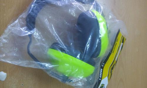 protector auditivo tipo audifono/orejera. 21 db