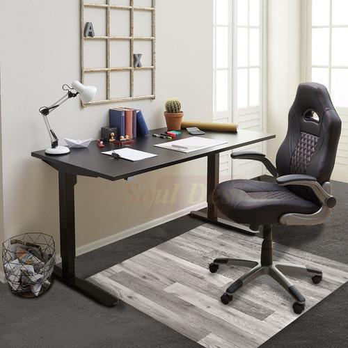 protector bajo escritorio para pisos pvc vinilo 1 x 1,2 mts