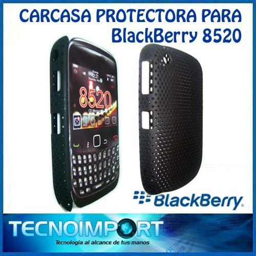 protector blackberry 8520 hard case microperforado