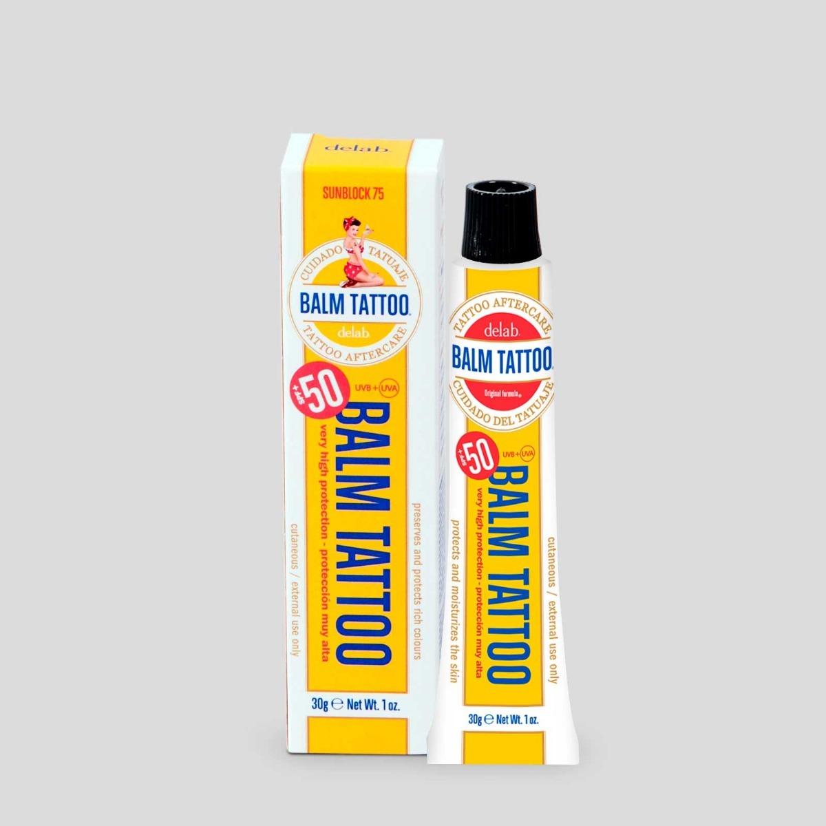 Protector Bloqueador Solar Para Tatuajes Balm Tattoo 30g 32500