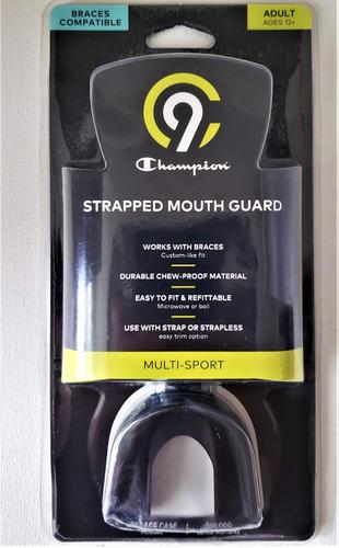 protector bucal champion: c9  multi deportes fácil d ajustar