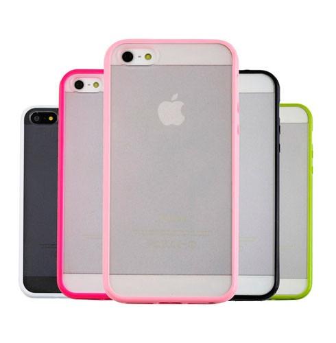 protector bumper iphone 5c 2 colores original case exacto