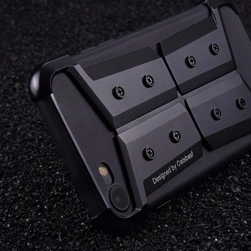 protector & bumper metalico super diseño armor iphone 7