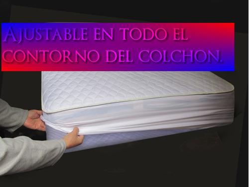 protector buonanotte  impermeable acolchado 1 1/2 plz105.00