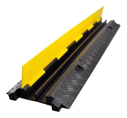 protector cable piso 2 canales 12 toneladas ton para cable yellow jacket azpro facturamos