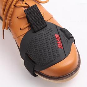 Protector Calzado Moto Cubre Palanca Cambio Goma Zapato