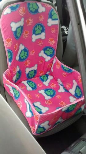 protector canasta silla delantera para automóvil mascotas