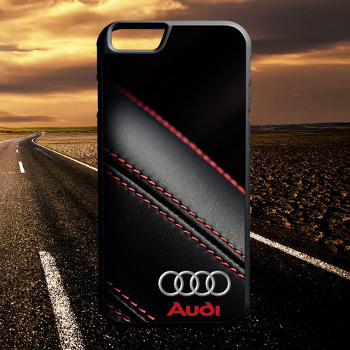 protector carcasa iphone  - audi leather