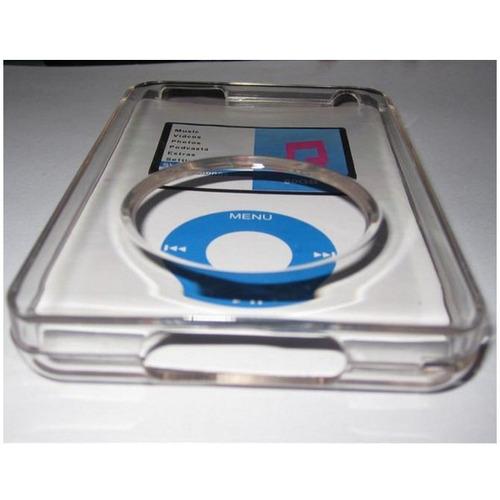 protector case crystal ipod classic policarbonato + envíogra