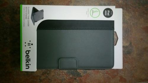 protector case forro ipad mini belkin gris/negro
