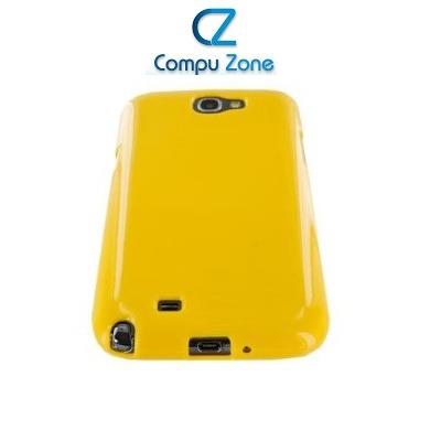 protector case gel poliuretano samsung note 2 n7100 amarillo