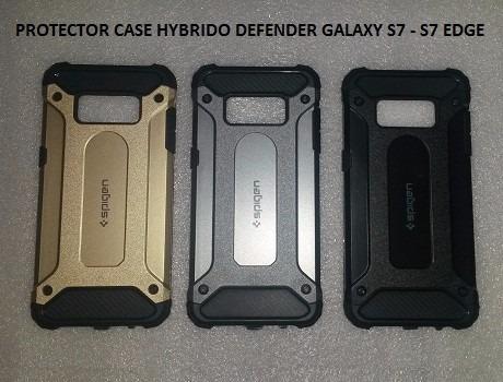 protector case hybrido galaxy s7 - s7 edge varios modelos