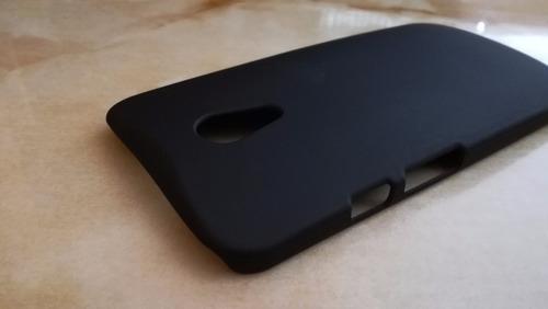 protector case moto g2 rigido delgado polycarbonato