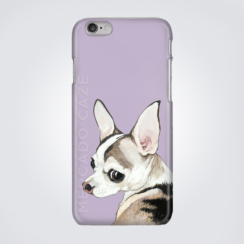 f53e7260e8d Protector Case Perro Chihuahua iPhone - $ 269.00 en Mercado Libre