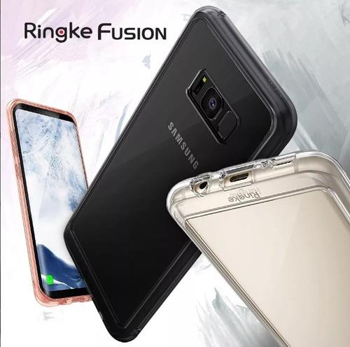 protector case ringke fusion bumper samsung s8 / s8 plus usa