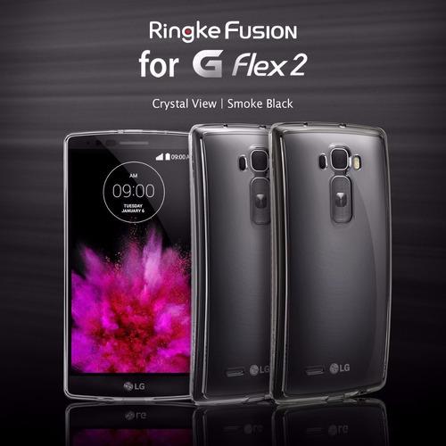 protector case ringke fusion  lg flex 2 ofertaaa