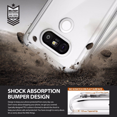 protector case ringke fusion  lg g5 oferta