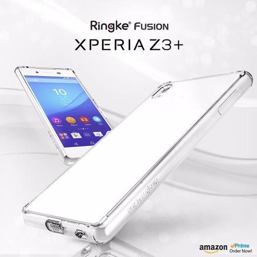 protector case ringke fusion  sony xperia z3+  plus oferta