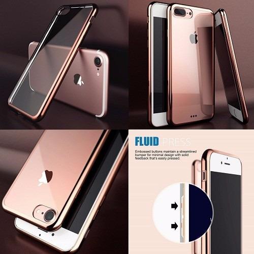 protector case transparente tpu iphone 7 y iphone 7 plus