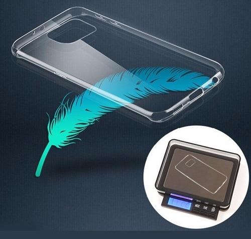 protector case transparente tpu samsung galaxy note 5 + mica