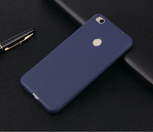 protector case xiaomi redmi 4x de tpu silicona azul