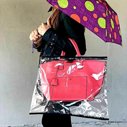 protector /cobertor carteras y bolsos raintop new top medium