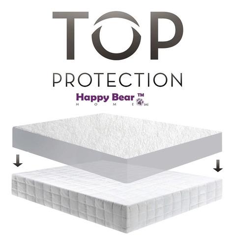 protector colchón blanco soft queen