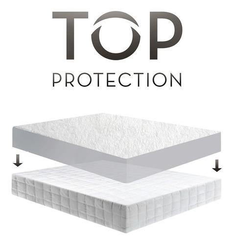 protector colchón hotel impermeable tamaño sencillo 100% pol