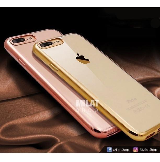 0022f85c9b4 Protector Cover Transparente Forro iPhone 6 6 Plus 7 7+ 8 8+ ...