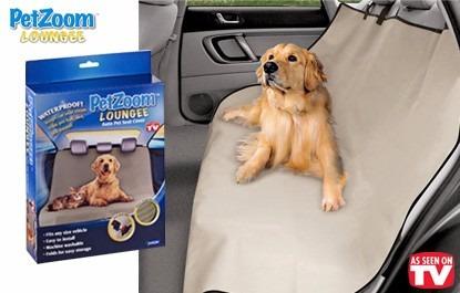 protector cubre asiento autos perro y gatos pet zoom loungee