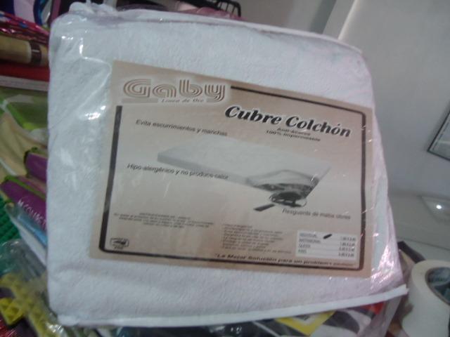 Protector cubre colch n impermeable marca gaby individual en mercado libre - Marca colchon ...