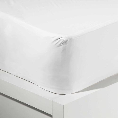 protector cubre colchón sabana impermeable 1 plaza