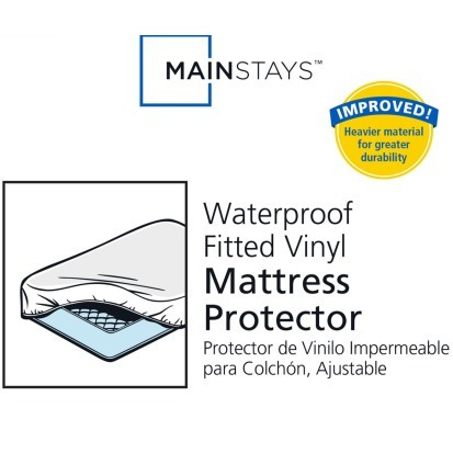 protector cubre colchon vinil resistente al agua individual