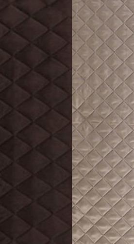 protector cubre sala chocolate-beige (3,2,1 plazas) - 3pz